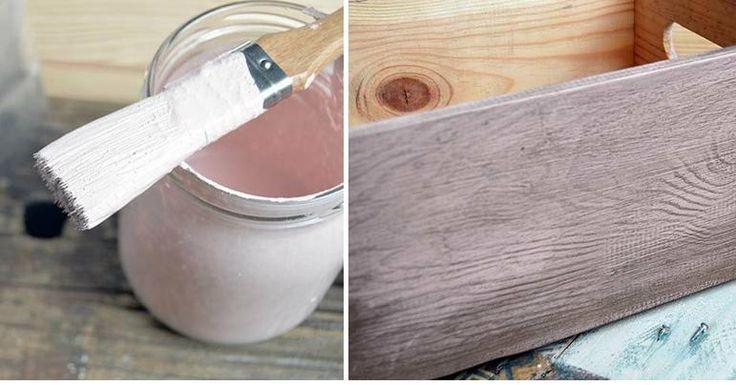 ¿Conoces la pintura de leche? Esta novedosa técnica es 100% ecológica. Si te gustaría cambiar el color tus muebles de madera, ¡experimenta con esta idea!
