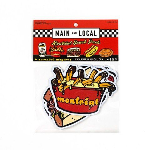 Keep that appetite healthy with #Montreal snack pack magnets! #Gift #Ideas #Canada #foodie http://giftideascanada.com/montreal-snack-pack-magnets/