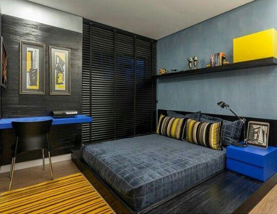 Una habitación perfecta para un hombre sobrio.
