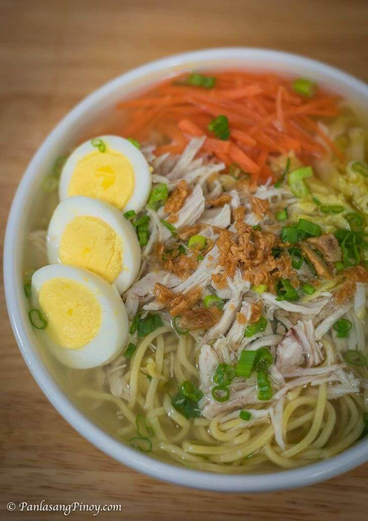 Chicken Mami Recipe Filipino Food And Recipes Pinterest