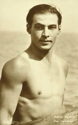 Rudolph Valentino (1895-1926), silent film star