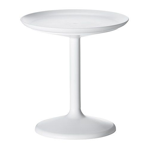 IKEA - IKEA PS SANDSKÄR, Tray table, outdoor, , You can also use the removable table top as a serving tray.The materials in this outdoor furniture require no maintenance.Easy to keep clean – just wipe with a damp cloth.