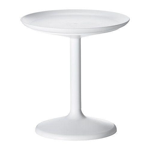 IKEA PS SANDSKÄR Tabletttisch/außen, weiß weiß -