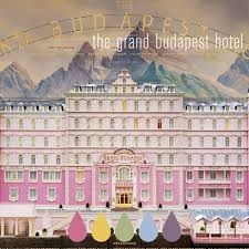 Grand Budapest Hotel Color Palette Wedding Day