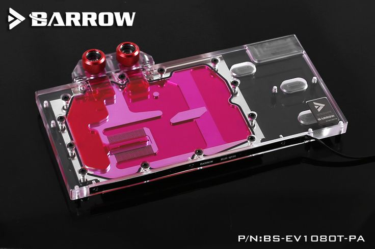 Barrow Bs Ev1080t Pa Gpu Water Cooling Block For Evga Gtx1080ti