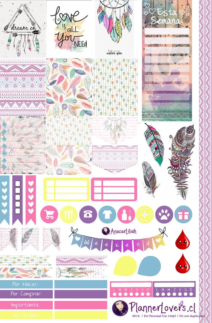 tribal_rainbow_free_printable_stickers_4_planners_by ...