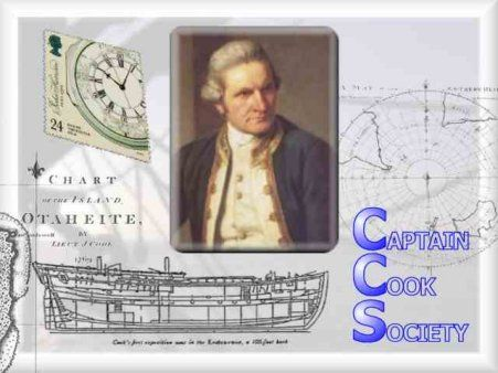 Cool website on all things Captain James Cook