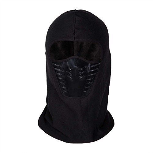 Full Face Mask SKI Motorcycle Cycling Outdoor Active Thermal Windproof Black New #Orgrim