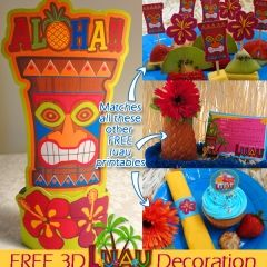 Free Printable Luau Decorations