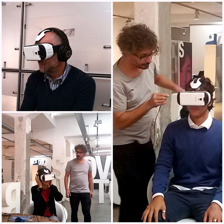 #OsnBackstage #VirtualReality #SamsungGearVR