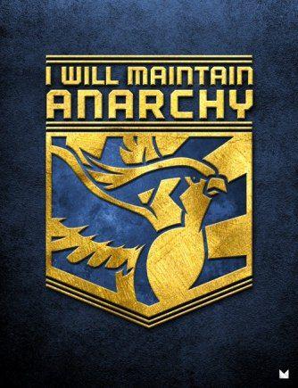 Bird Jesus and the Helix faith for anarchy.