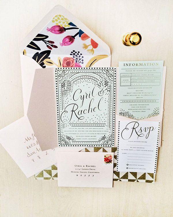 1237 best wedding invitation inspiration images on pinterest 2015 diy invitation design contest winners stopboris Image collections