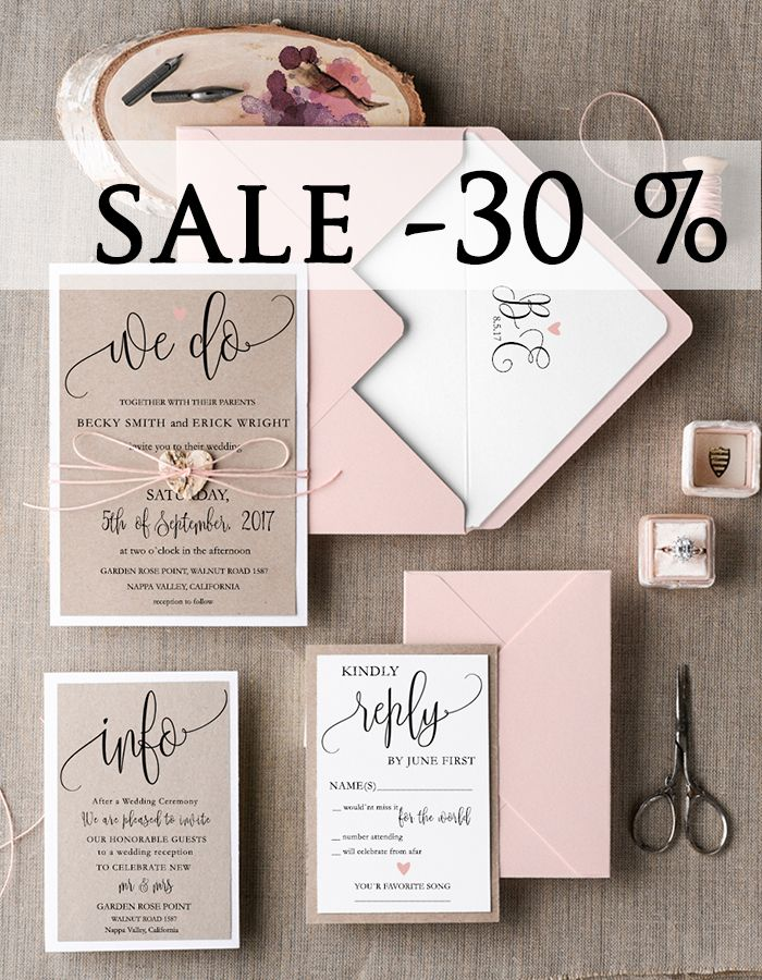 180 best Wedding Invitations images on Pinterest | Stationery ...