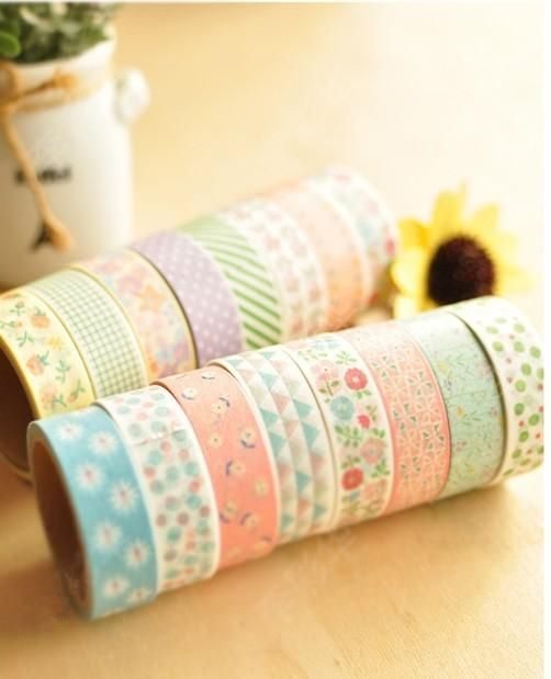Wholesale Washi Tape - Buy New Fashion Washi Masking Cartoon DIY Tape/cute Adhesive Tape / DIY Sticker Label/ School Supplies, $0.73 | DHgat...