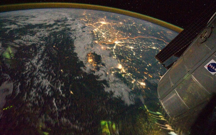 Picture of the Day: The Indian-Pakistan Border at Night from Space