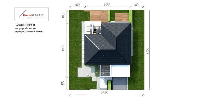 Projekt domu HomeKONCEPT-31 | HomeKONCEPT