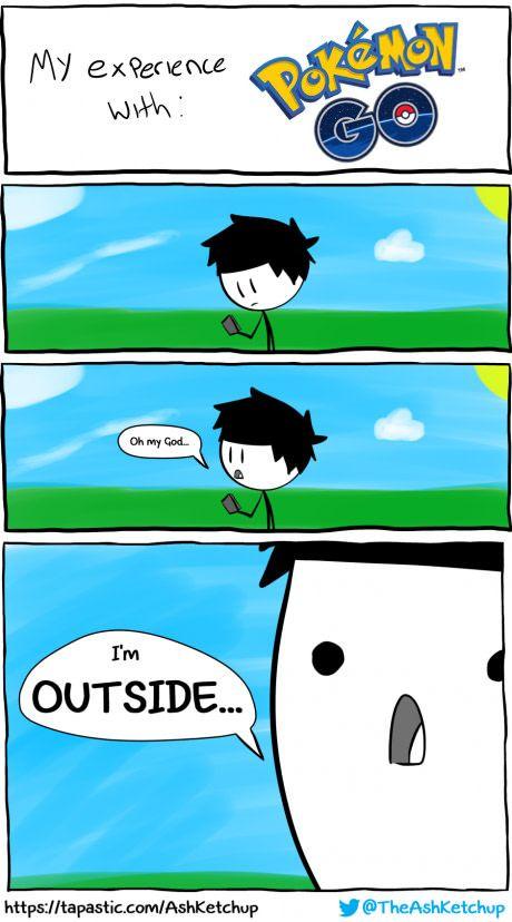 My Experience with Pokemon GO