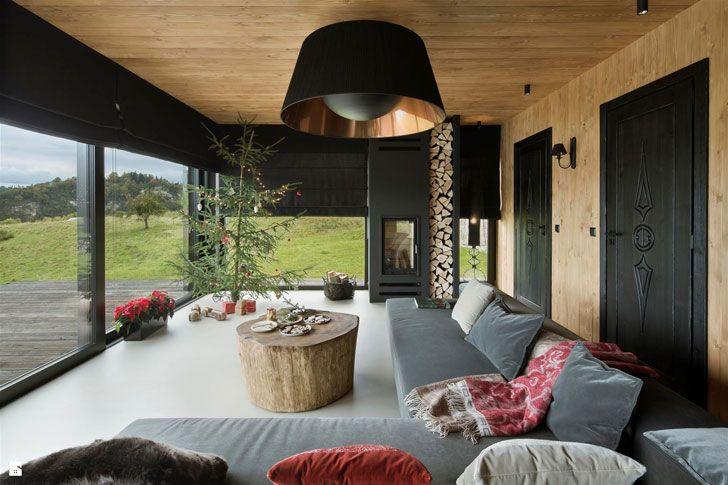 Дом в Польше с прекрасным видом на озеро | Современный деревянный дом в Польше