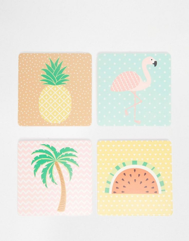 Image 1 of Sass & Belle Tropical Coasters