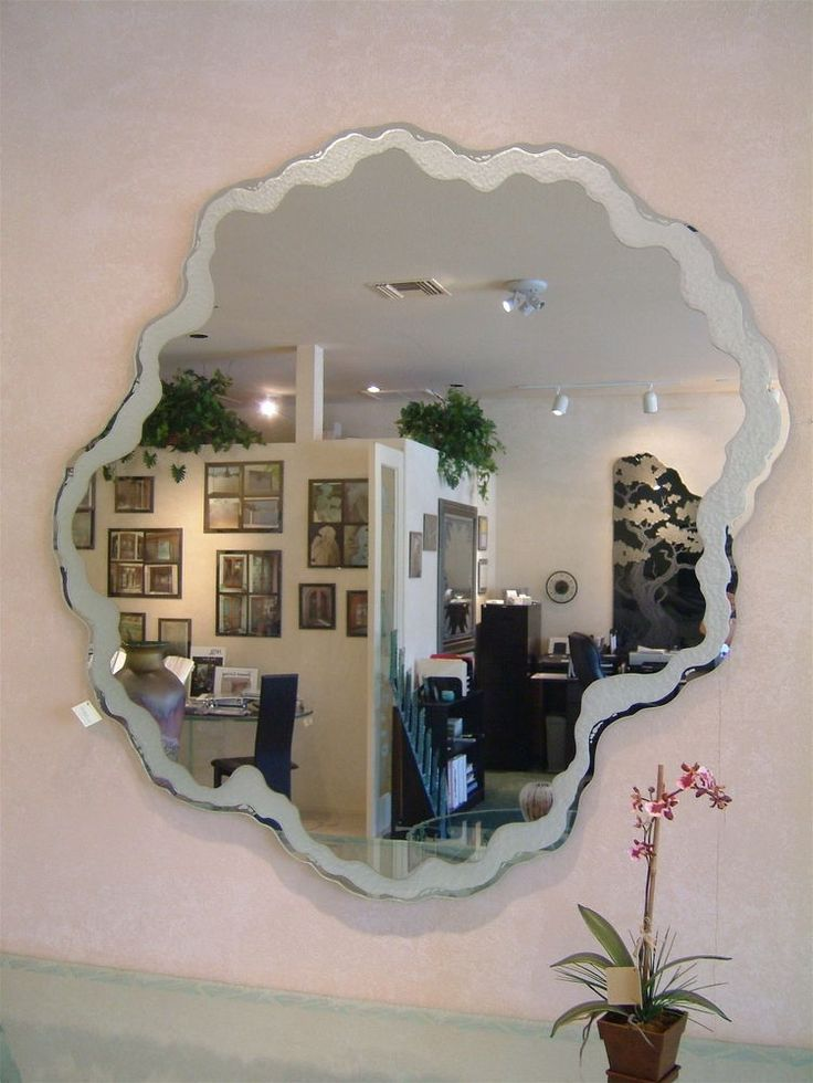Decorative Mirrors With Custom Etched U0026 Carved Designs   Sans Soucie Art  Glass