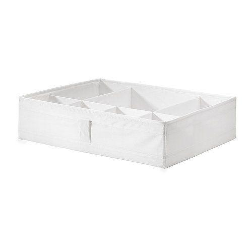 IKEA SKUBB Box with compartments, chest of drawers or war... http://www.amazon.com/dp/B007Z3XHEG/ref=cm_sw_r_pi_dp_3chwxb1YCZ0FQ