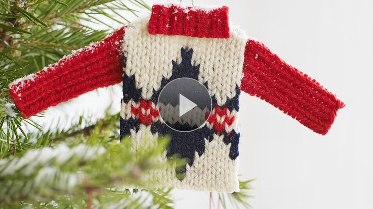 Transform An Old Sweater Into A Tree's Worth Of Homemade