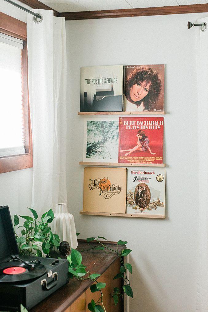 Diy Vinyl Records Shelf Display Vinyl Record Shelf Record Shelf Record Decor