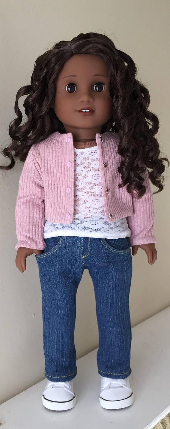 Fits American Girl doll: romantic separates to layer