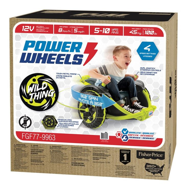 Power Wheels Wild Thing RideOn Power wheels, Power