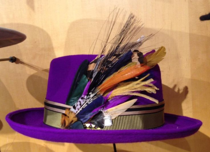 Gord Downie's prototype for the Tragically Hip 2016 tour. A real unique hat for a unique person.