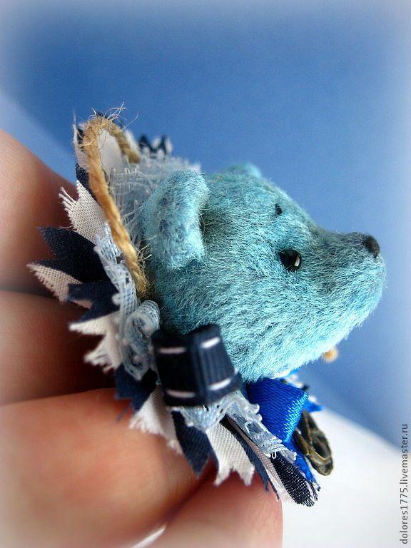 """Купить Брошь """"Мишка"""" (в ассортименте) - синий, брошь, брошки, брошь мишка, мишка брошка"""
