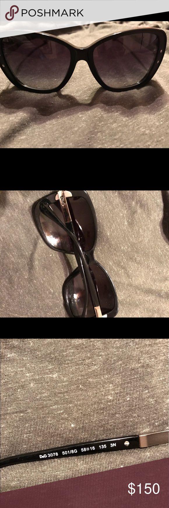 D&G Cat Eye Silhouette sunglasses Perfect condition  Dolce & Gabbana Accessories Sunglasses