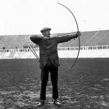 British archer William Dod won gold at the 1908 London Olympics.