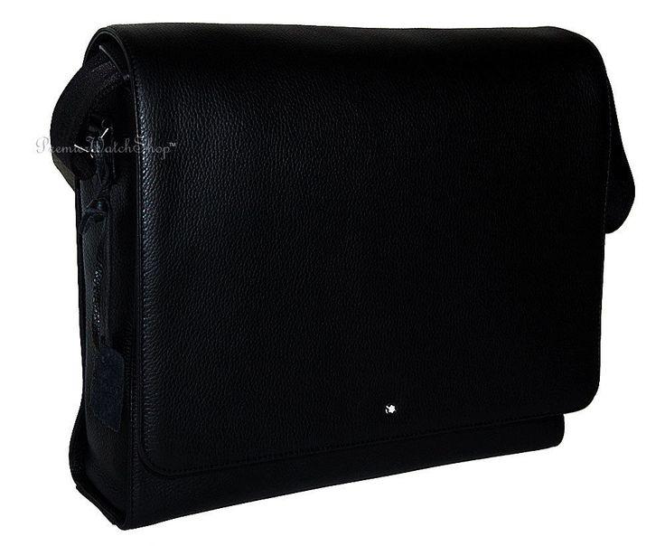 NEW Mont Blanc Meisterstuck Soft Grain Leather Messenger Shoulder Bag 111119 #Montblanc #MessengerShoulderBag