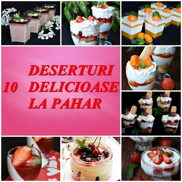 10 deserturi la pahar, elegante aspectuoase si foarte usor de preparat - CAIETUL CU RETETE