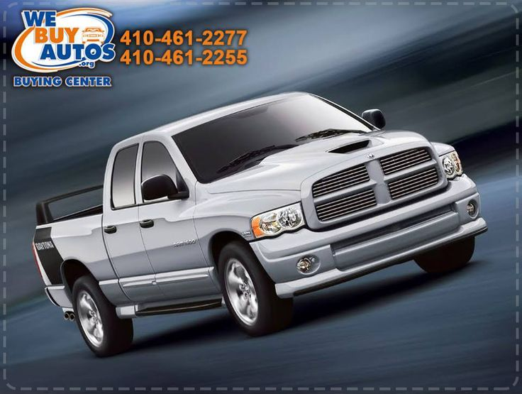 Sell Your Truck White Marsh today and get immediate payment when we pick up your truck, only here at We Buy Autos! Contact Us: (410) 461-2277 (Ellicott City) (410) 461-2255 (White Marsh) (877) 582-2777 Toll Free Or Visit http://webuyautos.org/