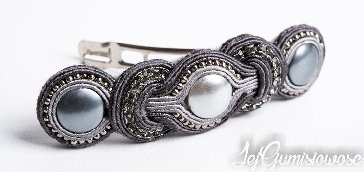 Soutache jewelry: Kolczyki ślubne :) i inne różności