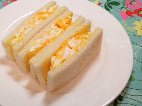 たまごサンドのレシピ。プロが教える、美味しいサンドイッチの作り方。 | やまでら くみこ のレシピ