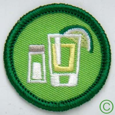 Shot of Tequila Demerit Badge! Great for Adult Girl Scouts! LoL @Christine Moreau @Larae Salcedo @Cassie Leigh @Felicia Biblewski