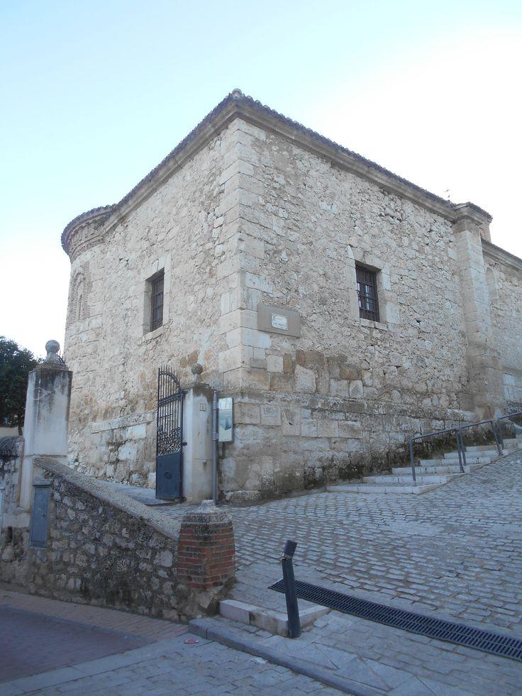 Valdilecha. Iglesia de San Martin Obispo.Sacristía del siglo XVII añadida a la nave principal.