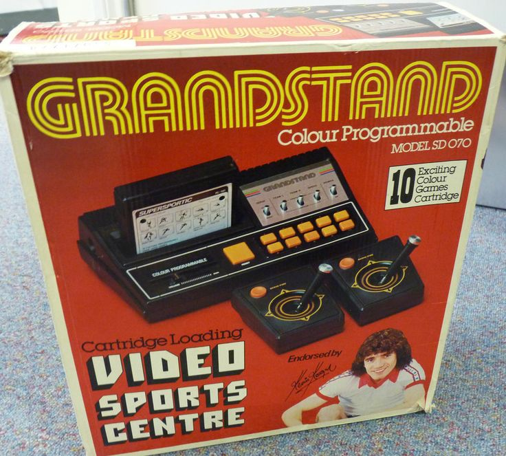 BOXED Kevin Keegan Grandstand Video Sports Center with