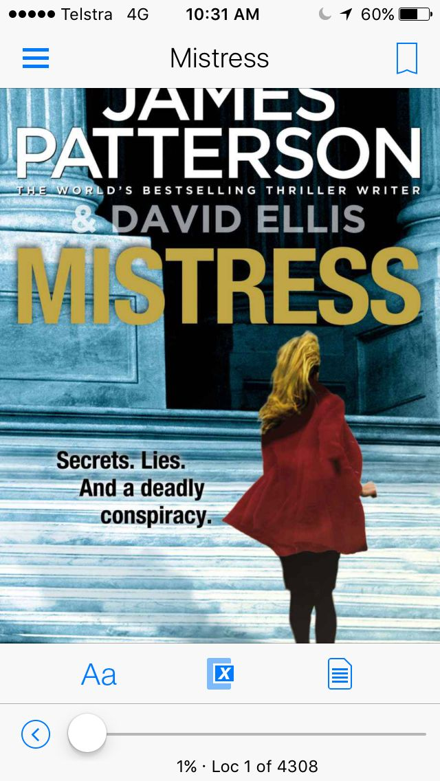 An excellent thriller by #JamesPatterson