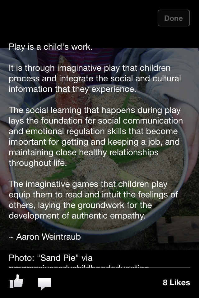 the importance of play based learning in early childhood Childforum early childhood education nationwide network why and teaching ideas the importance of a play-based approach lots of play-based learning opportunities.