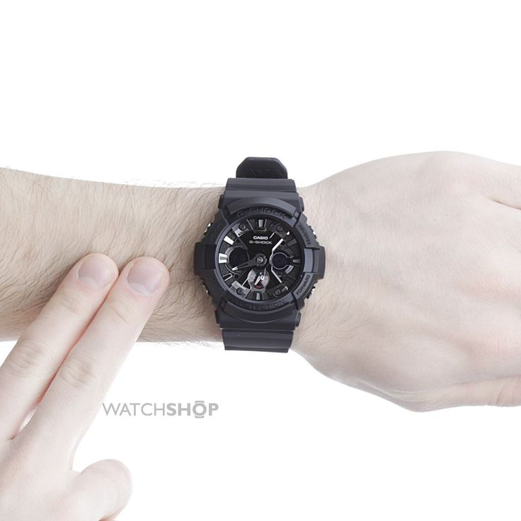 Men's Casio G-Shock Alarm Chronograph Watch http://www.thesterlingsilver.com/product/emporio-armani-mens-quartz-watch-with-black-dial-chronograph-display-and-black-leather-bracelet-ar2461/