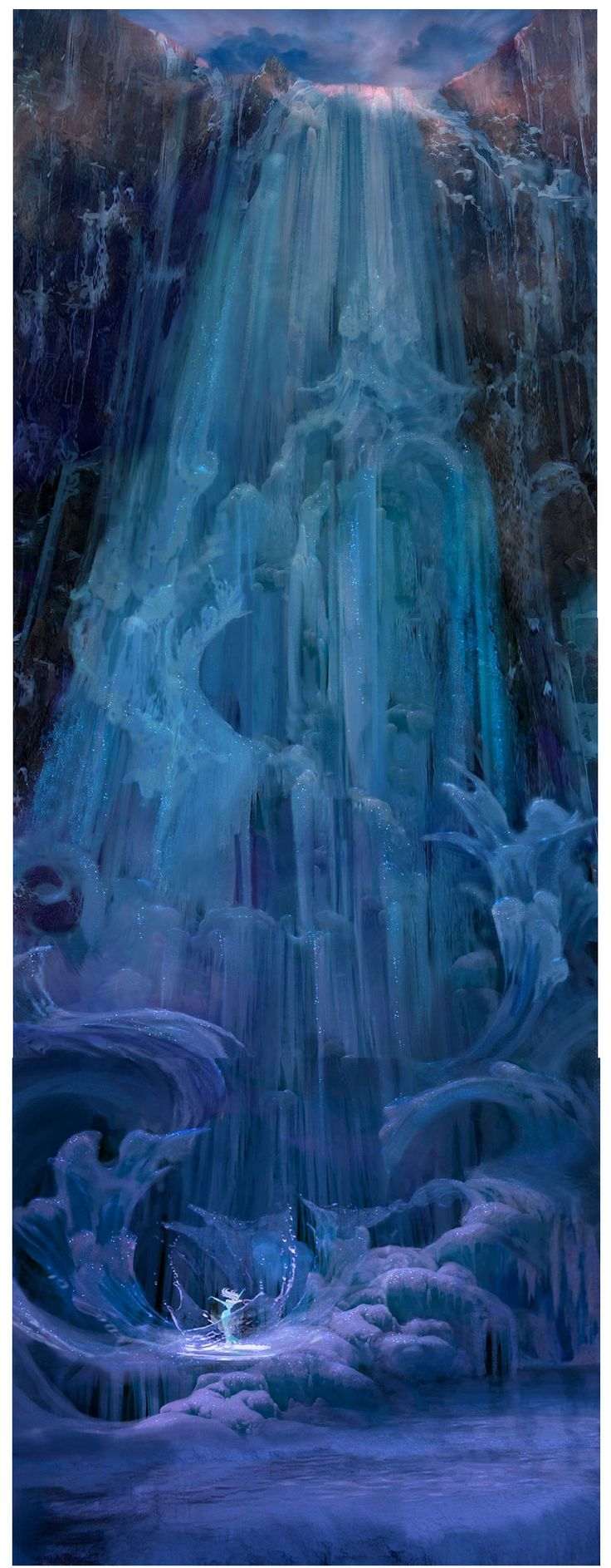 Mais um pouco da sensacional arte de Frozen | THECAB - The Concept Art Blog