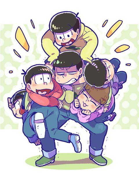 おそ松さん Osomatsu-san「おそ松さんログ2」/「てんどし」の漫画 [pixiv]