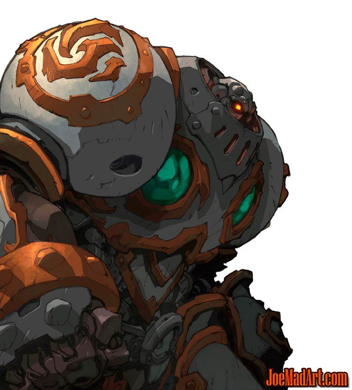 Battle Chasers Nightwar in-game Calibretto Portrait