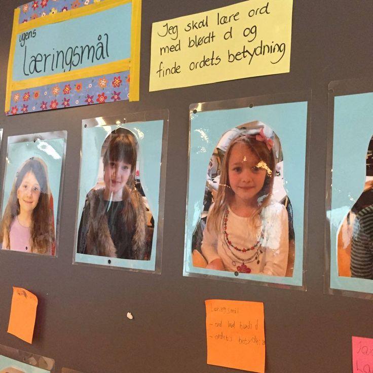 For tiden er der stor fokus på læringsmål . I 1. kl. har vi arbejdet med læringsmål fra første skoledag. Når vi arbejder med UgeskemaRevolu...