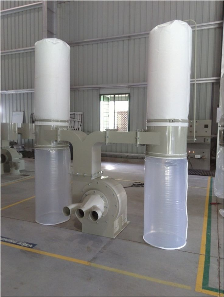 Dust Collection System for WoodProcessing Plant Dynavac® has provided 4 wood dust extraction systems (model no. DCW5F2). Each of these wood dust collecter systems are connected tothe wood processing machines with 3 ducts, each duct having a diameter of 100 mm.