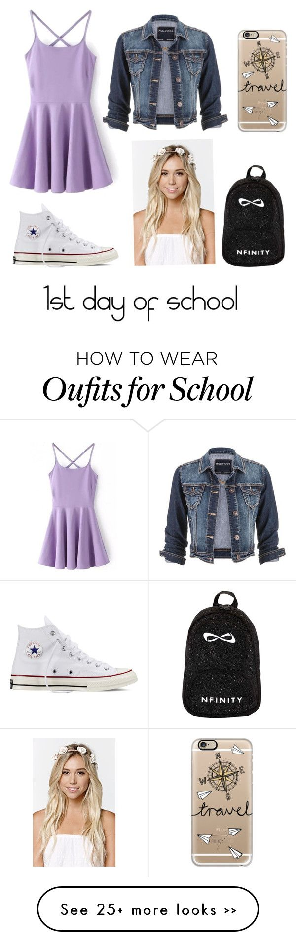 """""""1st day of school"""" by fashionpassion2020 on Polyvore"""